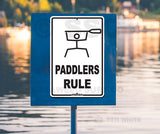 AA19 Paddlers Rule Sample