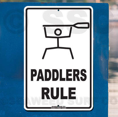 AA19 Paddlers Rule - Seaweed Surf Co