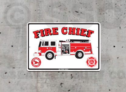 AA27 Fire Chief - Seaweed Surf Sign Co