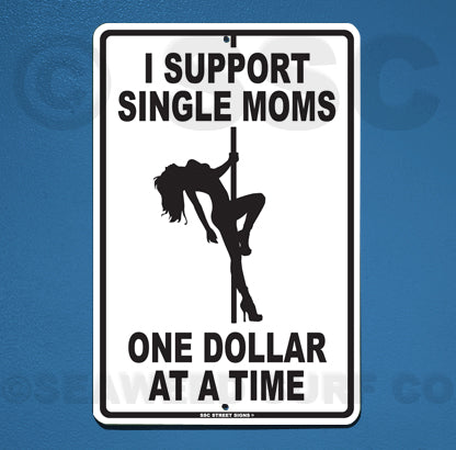 AA33 I Support Single Moms - Seaweed Surf Co