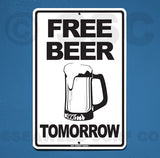 AA41 Free Beer Tomorrow - Seaweed Surf Co