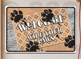 AA483 Wipe Your Paws - Seaweed Surf Co