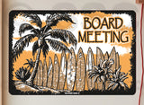 AA705 Board Meeting - Aluminum Novelty Metal Sign