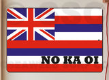 AA713 Hawaiian Flag - Aluminum Novelty Metal Sign