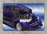 AA79 Hot Rod Garage - Aluminum Novelty Metal Sign
