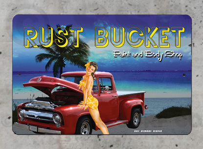 AA80 Rust Bucket - Seaweed Surf Sign Co