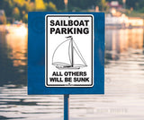 AA9 Sailboat Parking - Seaweed Surf Co