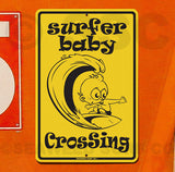 SF10 surfer baby crossing - Seaweed Surf Co