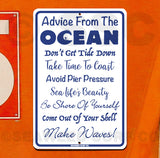 SF139 Advice from the Ocean - Seaweed Surf Sign Co
