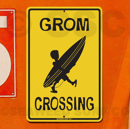 SF31 Grom Xing - Seaweed Surf Sign Co