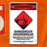 SF53 Warning Shorebreak - Seaweed Surf Co