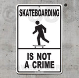 SK10 Skateboarding is Not a Crime