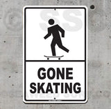 SK13 Gone Skating - Seaweed Surf Sign Co