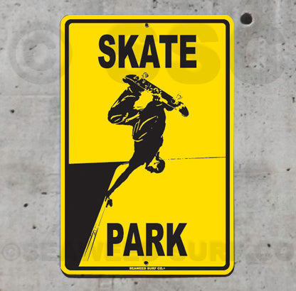 SK3 Skate Park - Aluminum Novelty Metal Sign