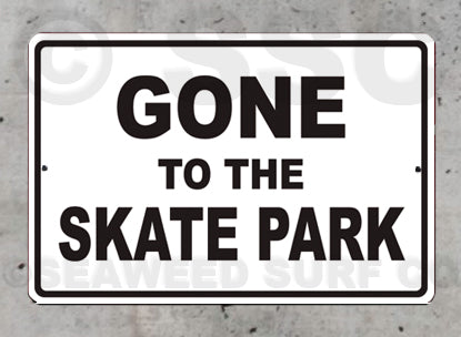 SK6 Gone to the Skate Park