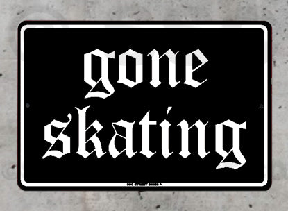 SK9 Gone Skating Black