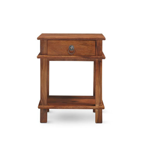 Carley Side Table Walnut