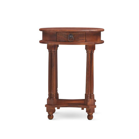 Bergamot Side Table Walnut