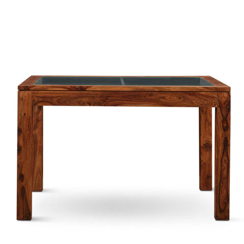 Carlsbade Four Seater Dining Table Walnut