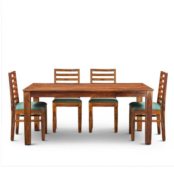 Bilander Six Seater Dining Set Walnut