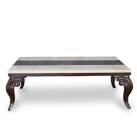 Christopher Coffee Table with Marble Top