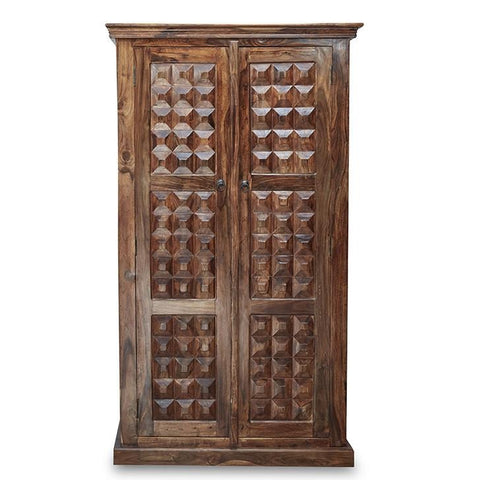 Victoria Wardrobe Walnut