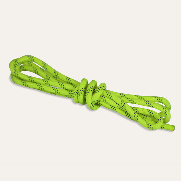 neon yellow reflective cut resistant drawstring ropes by Loctote