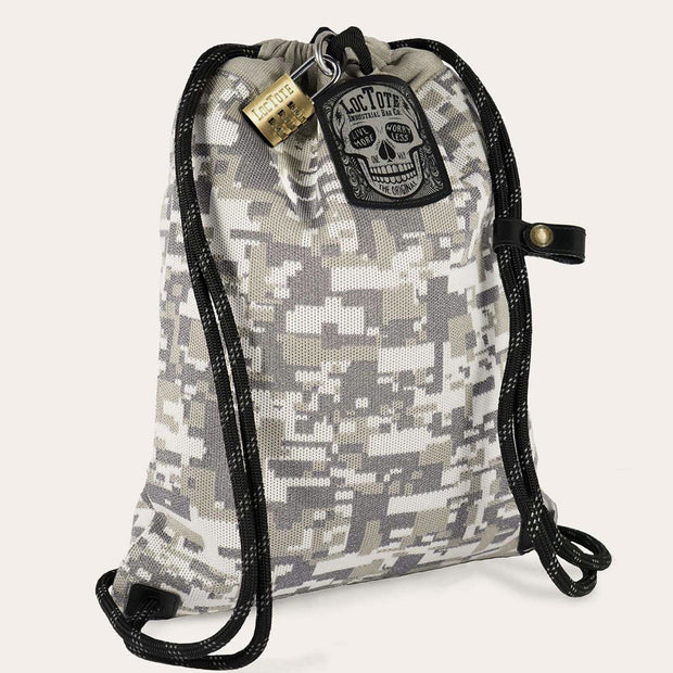 Flak Sack Coalition - Most Badass Theft-Resistant Drawstring Backpack