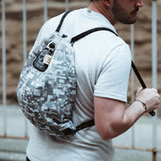 Anti-theft Lockable Camo Flak Sack Coalition