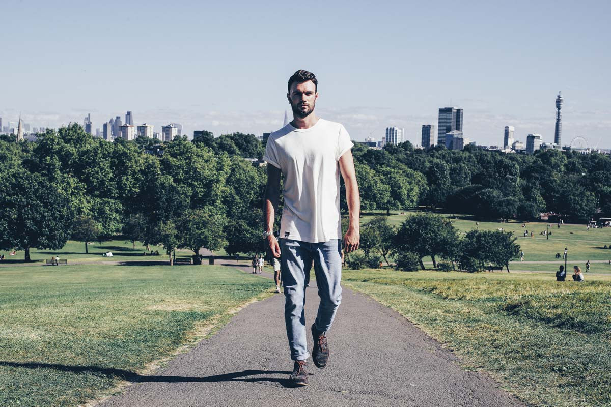 lyme terrace menswear london organic cotton and bamboo t-shirts
