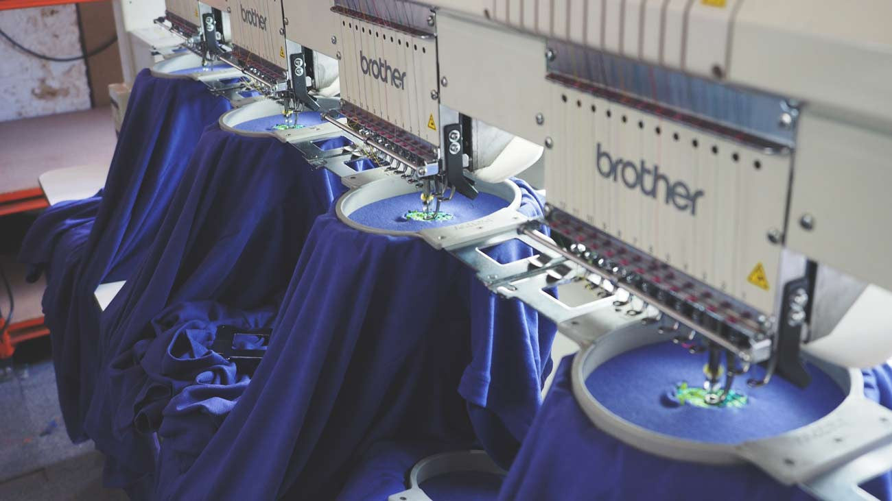 imprime london embroider supplier to Lyme Terrace