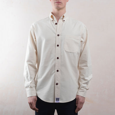 brushed organic cotton shirt lyme terrace menswear