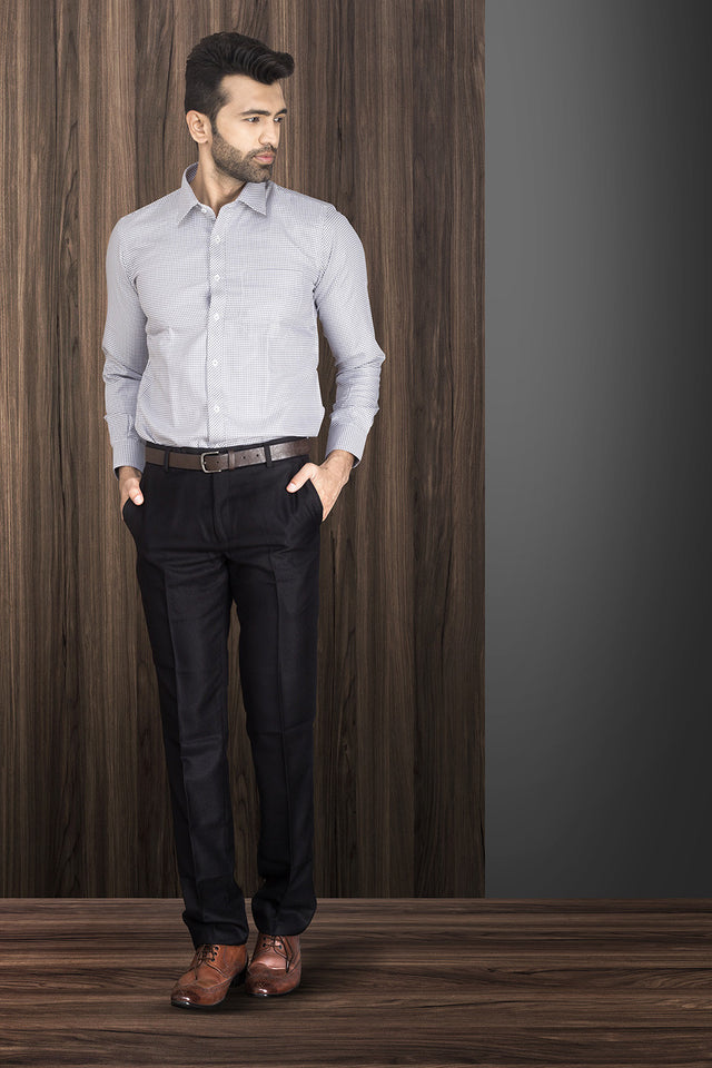 GREY FORMAL SHIRT