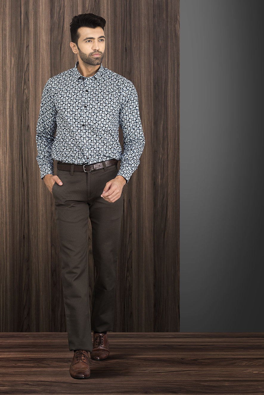 CLASSIC BROWN CASUAL AND FORMAL TROUSER