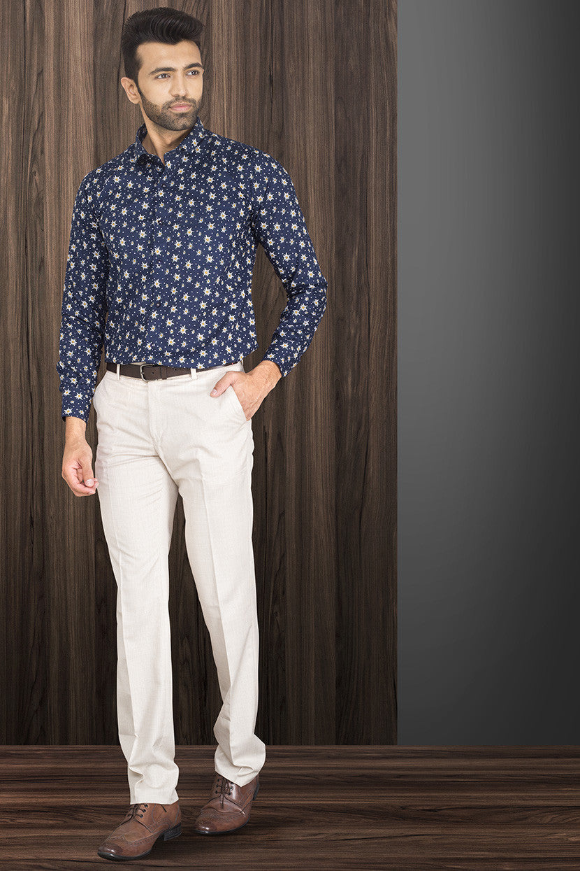SIMPLY WHITE FORMAL TROUSER
