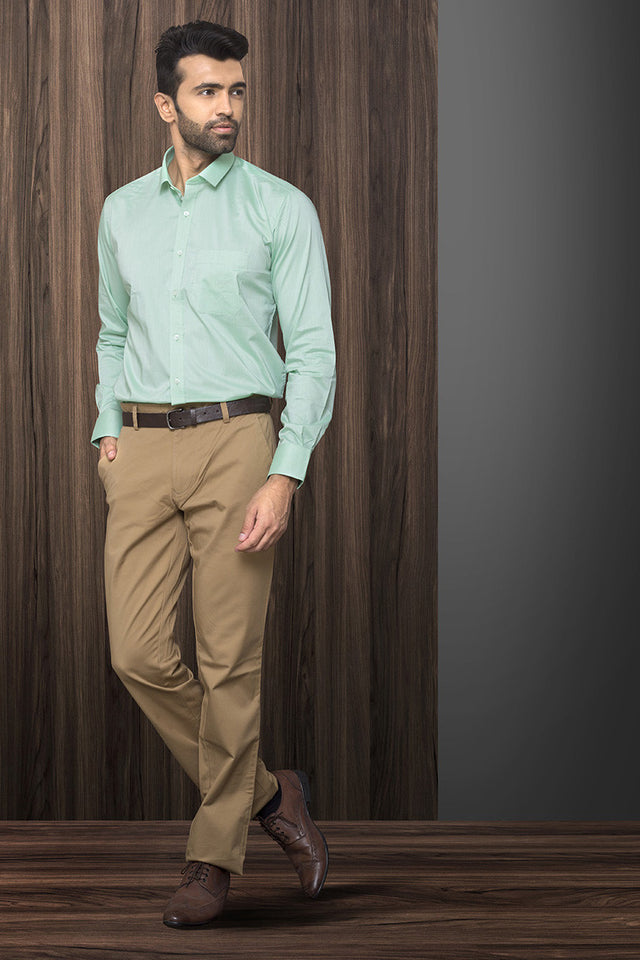 SEA GREEN FORMAL SHIRT