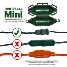 Twist and Seal Mini - Holiday Light Cord Protection