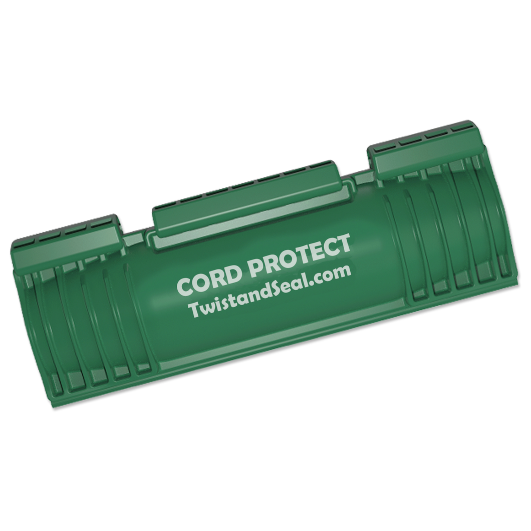 twist and seal cord protect outdoor extension cord protection