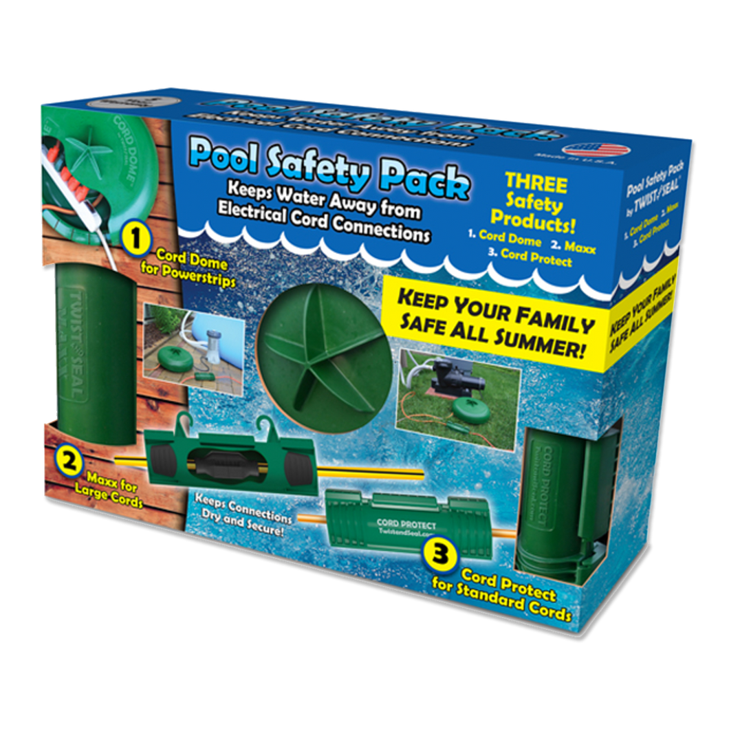 Twist and Seal Pool Safety Pack