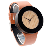Women's Handcrafted 100% Natural Wooden Watch // Personalized Engravings // Leather Strap // Julia - Woodzystore