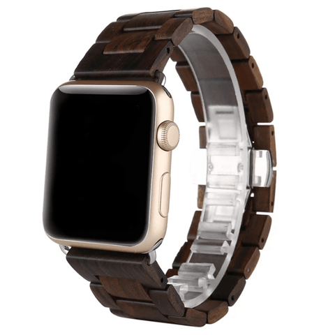 Ebony Strap // iWatch - Woodzy