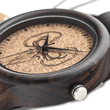 Men's Handcrafted 100% Natural Wooden Watch // Personalized Engravings // Cronos - Woodzystore