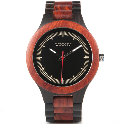 Men's Handcrafted 100% Natural Wooden Watch // Personalized Engravings // Abel - Woodzystore