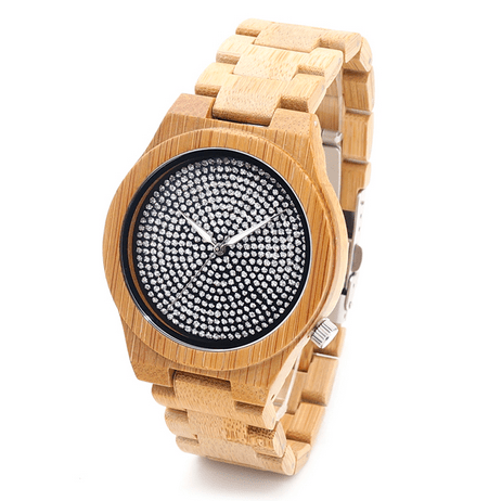 Men's Handcrafted 100% Natural Wooden Watch // Personalized Engravings // Hawk - Woodzystore