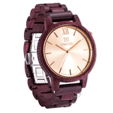 Men's Handcrafted 100% Natural Wooden Watch // Vista - Woodzystore