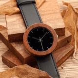 Women's Handcrafted 100% Natural Wooden Watch // Personalized Engravings // Leather Strap // Emily - Woodzystore
