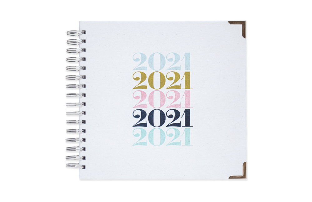 2021 Spaces Planner - Happy Day