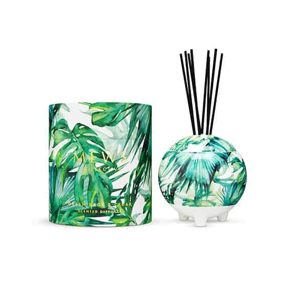 Mews Green Sage & Cedar Diffuser 350ml Large