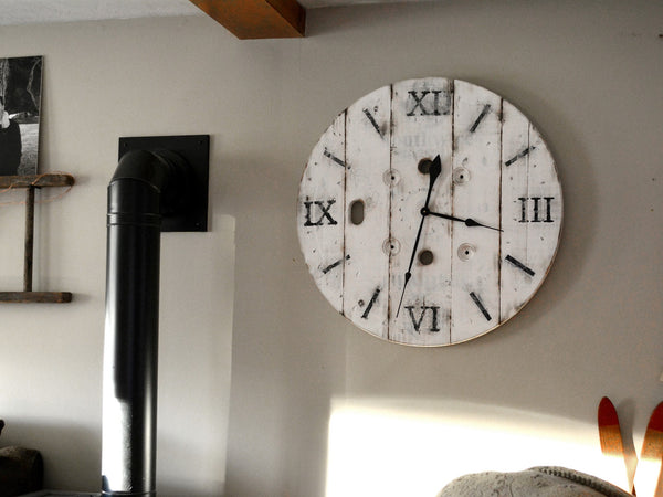 Nantucket Spool Clock