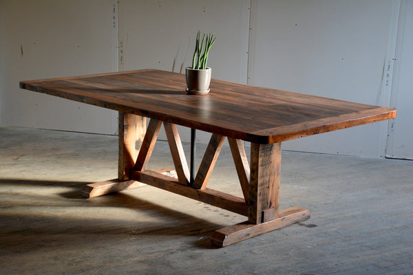 Classic Truss Dining Table